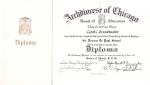Diploma 1952